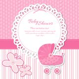 Baby Shower Announcement Stock Images