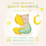 Baby Shower or Arrival Card Stock Photography