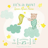 Baby Shower or Arrival Card Stock Images