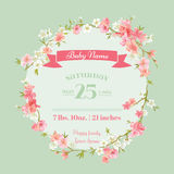 Baby Shower or Arrival Cards Stock Images