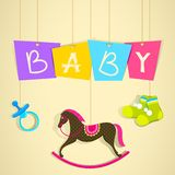 Baby Shower Background Royalty Free Stock Photo