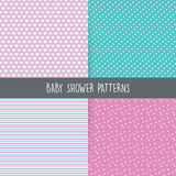 Baby Shower background Royalty Free Stock Photos