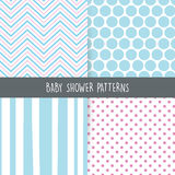 Baby Shower background Royalty Free Stock Image