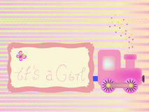 Baby shower background Royalty Free Stock Photography