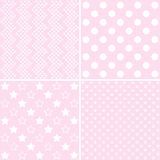 Baby shower and backgrounds Stock Image