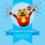 Baby Shower Bear Royalty Free Stock Photography