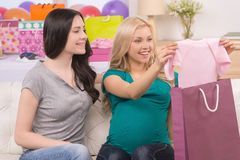 Baby shower. Stock Images