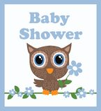 Baby shower boy. Baby shower Royalty Free Stock Photography