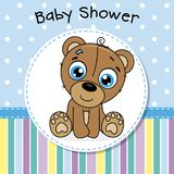 Baby shower boy stock illustration
