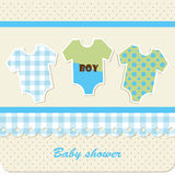 Baby shower - boy Royalty Free Stock Images