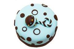 Baby shower cake royalty free stock photos