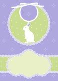 Baby shower card vector illustration