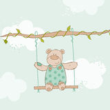 Baby Shower Card Royalty Free Stock Photo