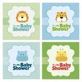 Baby shower Card Stock Photos