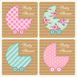 Baby shower card 2 Stock Photography