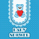 Baby shower card Stock Photo