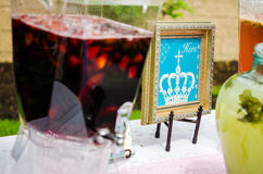 Baby shower Cocktails Stock Photo