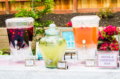 Baby shower Cocktails Stock Photography