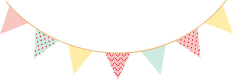Baby Shower Decor Stock Images