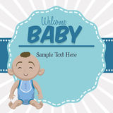 Baby Shower design Stock Images