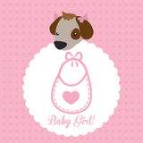 Baby Shower design Royalty Free Stock Photos