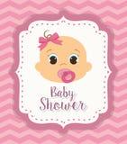 Baby shower design Stock Image