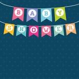 Baby shower design Stock Photos