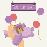 Baby shower Stock Image