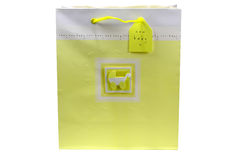 Baby Shower Giftbag Stock Images