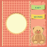 Baby shower for girl Stock Photo