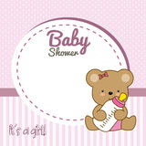 Baby shower girl Royalty Free Stock Image
