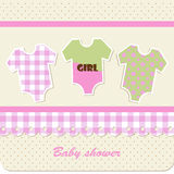 Baby shower - girl Royalty Free Stock Photos