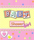 Baby shower girl Royalty Free Stock Photos