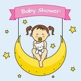 Baby shower Royalty Free Stock Image