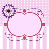 Baby shower for girl Royalty Free Stock Photo