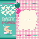 Baby Shower Greeting Card Stock Photography