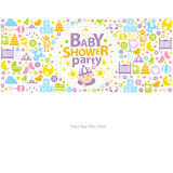 Baby Shower Greetings Stock Image