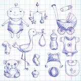 Baby shower. vector illustration
