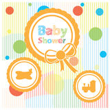 Baby shower illustration Stock Photo