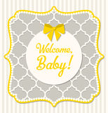 Baby shower, illustration Royalty Free Stock Photos