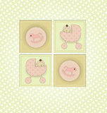 Baby Shower Invitation Stock Images
