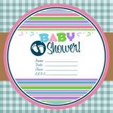 Baby Shower Invitation Royalty Free Stock Image