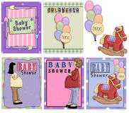 Baby Shower Invitation Royalty Free Stock Image