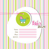 Baby shower invitation Royalty Free Stock Photography