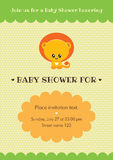 Baby shower invitation card Stock Photos