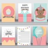 Baby shower invitation card. vector Stock Photos