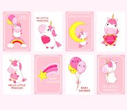 Free Baby Shower Invitation Cards Collection Stock Photos - 183232913