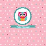 Baby Shower Invitation Royalty Free Stock Photography