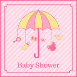 Baby shower invitation Stock Photography