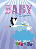Baby Shower Invitation Royalty Free Stock Photos